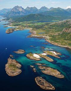 travelingcolors:  Aerial view of Kjerringøy | Norway (by Sverre Magnos Bjorseth)