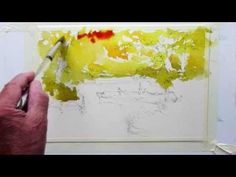 How to paint fall colors Part 1 - YouTube