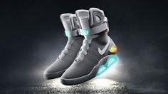 Nike's 'Back to the Future' sneakers are real, but you'll have to bid to buy them