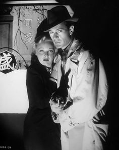Madeleine Carroll and Gary Cooper, The General Died at Dawn (1936)