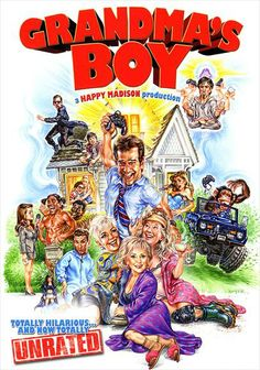 grandma's boy movie | Stuck On A Rock: SOME THINGS I LEARNED WATCHING GRANDMA'S BOY