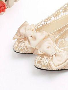 Spitzen-Ballerinas  #Hochzeit  #wedding