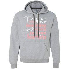 Teachers Who Love Teaching - Gildan Heavyweight Fleece Sweatshirt