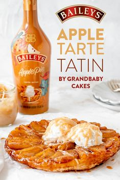 Caramelized apples, new Baileys Apple PIe, AND flaky pastry?! Grandbaby Cakes has dreamt up the most ideal Apple Tarte Tatin dessert for a fall. Head over to grandbaby-cakes.com for the recipe and try making it right at home. Apple Desserts, Apple Recipes, Just Desserts, Fall Recipes, Delicious Desserts, Snack Recipes, Dessert Recipes, Cooking Recipes, Health Desserts