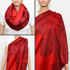 Nursing Infinity Scarf  Nursing Cover  by NyUrbanAccessories - This is really cute even if you're not nursing!