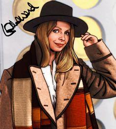 Dr Who Art | lalla ward romana doctor who by tygerbug fan art digital art drawings ...