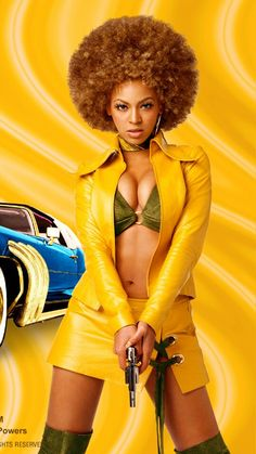 8cb8e785111 Beyonce Knowles  totally groovy blaxploitation-inspired character Foxxy  Cleopatra in Austin Powers  Goldmember