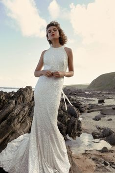 Escape into our BELOVED edit, our favourite KWH pieces caught in a playful moment of high spirited elegance. Pictured is the Cindy gown Classic Wedding Gowns, Elegant Wedding Dress, Designer Wedding Dresses, Wedding Styles, Boho Wedding, Australian Wedding Dress Designers, Australian Wedding Dresses, Karen Willis Holmes, Bridal Gowns