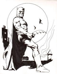 Batman Comic Art