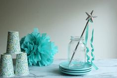 DIY Wand - great party favor for fairy or princess or mermaid party