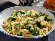 Fusilli with Garlicky Broccoli recipe from Valerie Bertinelli via Food Network