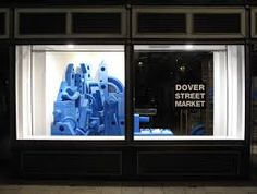 Image result for dover street market london JW Anderson  Capsule collection window