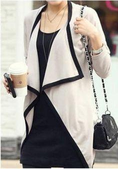 long cardigan outwear