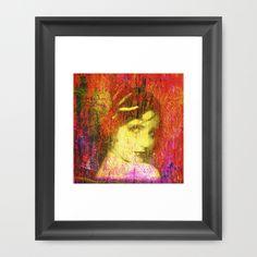 art,digital,lady,face,colors,vintage.....