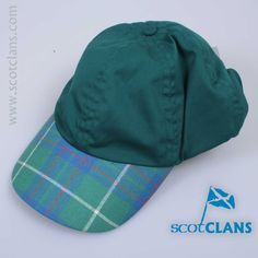 Macintyre Tartan Baseball Cap. Free Worldwide Shipping Available
