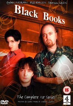 Created by Dylan Moran.  With Dylan Moran, Bill Bailey, Tamsin Greig, Paul Beech. Bernard Black runs his own bookshop even though he doesn't much like people who buy books and hates having customers. Next door to Bernard's shop is the Nifty Gifty gift shop run by Fran, probably Bernard's only friend in the world. When Bernard's accountant goes on the run Bernard employs stress victim, Manny to help in his shop. This leads to a series of surreal adventures around the shop.