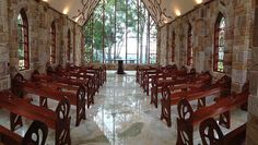 Inside The Chapel Montville With Amazing Hinterland Views Over Glasshouse Mountains WeddingWedding VenuesGlasshouse