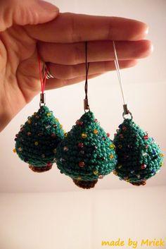 DIY christmas ornaments crochet