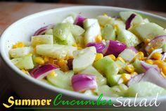 Cucumber Salad 4 Summer