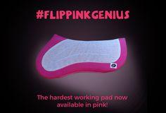Limited Edition Hot Pink Flip Half Pad