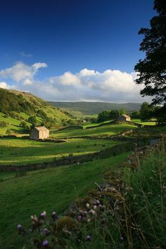 Angram Valley, Swaledale, North Yorkshire, England (by Lakeland-Photographs) - stayed with friends who live here! Yorkshire England, Yorkshire Dales, North Yorkshire, Cornwall England, England Ireland, England And Scotland, Places To Travel, Places To See, British Countryside