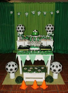 Pin by joanna roman on soccer bday party in 2019 день рождения, футбол, дет Football Theme Birthday, Soccer Birthday Parties, Sports Birthday, Soccer Party, Sports Party, 12th Birthday, Taco Party, Party Time, Baby Booties