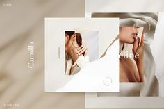 This template is a part of Aesthetic Bundle : --- Carmilla - a masterpiece created for We believe that a simple design will look more Luxurius and Elegant. this template is build with Social Media Template, Social Media Design, Social Media Graphics, Carmilla, Graphic Design Trends, Graphic Design Layouts, Brochure Design, Layout Design, Editorial Design