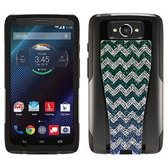 OtterBox Commuter Motorola Droid Turbo Case  Chevron Glitter Blue Green OtterBox Case -- Be sure to check out this awesome product.