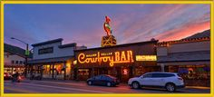 Our favorite cowboy bar in Wyoming