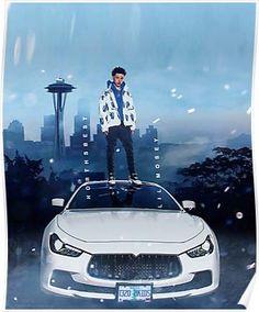 E-110 Kanye West Ye Hot New 2018 Hip Hop Album Fabric Poster Print