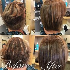 Cut down your flat iron time and remove all frizz with The FIRST Shampoo!  Treatment by: Sarah Marie Graber