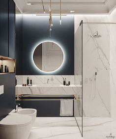 Discover recipes, home ideas, style inspiration and other ideas to try. Washroom Design, Bathroom Design Luxury, Modern Bathroom Design, Modern Luxury Bathroom, Small Luxury Bathrooms, Minimalist Bathroom, Kitchen Design, Bad Inspiration, Bathroom Inspiration