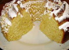 Citrónová bábovka • recept • bonvivani.sk Krispie Treats, Rice Krispies, Vanilla Cake, Ale, Food And Drink, Desserts, Basket, Lemon, Ring Cake