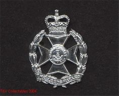 THE LEEDS RIFLES CAP BADGE in Collectables, Badges/ Patches, Military Badges | eBay
