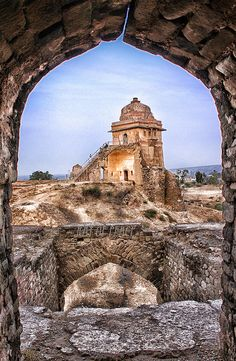 Beautiful paintings of Rohtas fort Pakistan Pakistan Zindabad, Pakistan Travel, India Travel, Great Places, Places To See, Beautiful Places, Amazing Places, Costa, Islamic World