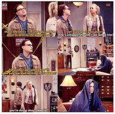 LOL, Dr. Sheldon Cooper!