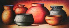 Bodegón precolombino moderno Miguel Tapia Vase, Home Decor, Trendy Tree, Room Decor, Flower Vases, Home Interior Design, Home Decoration, Interior Decorating, Home Improvement