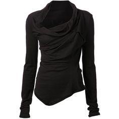 Marc Le Bihan asymmetrical long sleeve top