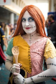 This Sally Skellington costume is pretty on point.