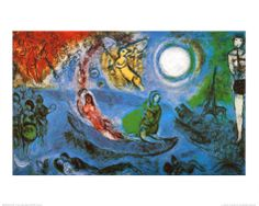 The Concert Print by Marc Chagall at Art.com