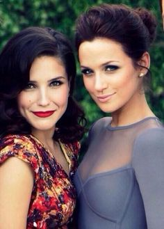 Sophia Bush and Danneel Harris