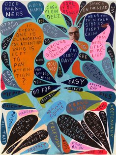 Mind Maps by Martha Rich, via Behance