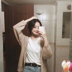 Korean Ulzzang, Ulzzang Boy, Korean Girl, Asian Girl, Jung So Min, Korean Products, Vetement Fashion, Grunge Girl, Girl Model