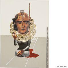 The Journey (Psychogram in 360 Collages) -- Part 1: The half Journey -- *Der kleine Gott der Lücken* Collage 070 from 360 // www.marcelbuehler.com/