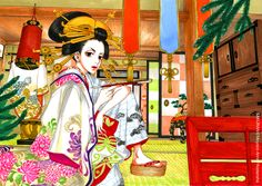 Download Sakuran: An Oiran's room (1686x1200) - Minitokyo