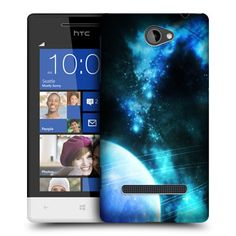 e_cell - Neptune Outer Space Design Snap-On Hard Back Case Cover for HTC Windows Phone 8S