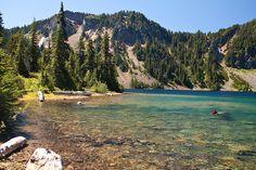 Marmot Lake, Alpine Lakes Wilderness, WA.