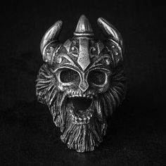 "#skull # ring #skullring #fourspeed #fourspeedmetalwerks #pewter #handmade This is ""Warcry"" a skull ring based on lead free pewter that made by Fourspeed Metalwerks, a top class brand that have worked with well-known musicians, artists and professional athletes."