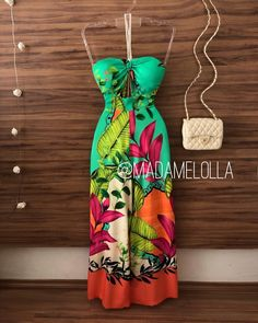 Fashion Outfits, Womens Fashion, Fashion Trends, Summer Outfits, Summer Dresses, Casual Chic, Bohemian Style, Casual Looks, Strapless Dress