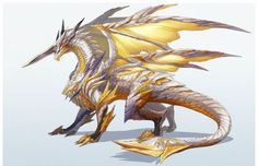 First look at Shining Resonance for PlayStation 3 - Gematsu Fantasy Monster, Monster Art, Mythical Creatures Art, Fantasy Creatures, Dragon Poses, Mythical Dragons, Cool Dragons, Fantasy Beasts, Dragon Artwork
